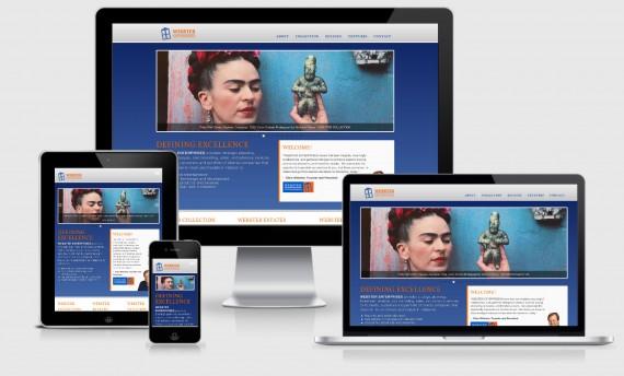Webster Enterprises WordPress Web Design